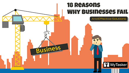18 Reasons Why Businesses Fail and Effective Solutions (Infographic)
