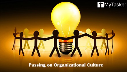 Imbibing Values: Passing on Organizational Culture to the New Hires